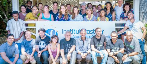 Les vœux de l 'Institut Pasteur de Nouvelle Caledonie
